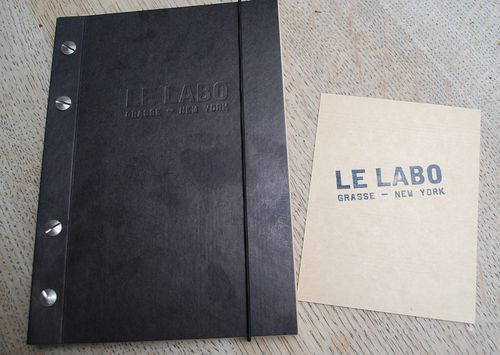 Perfumed le labo notebook