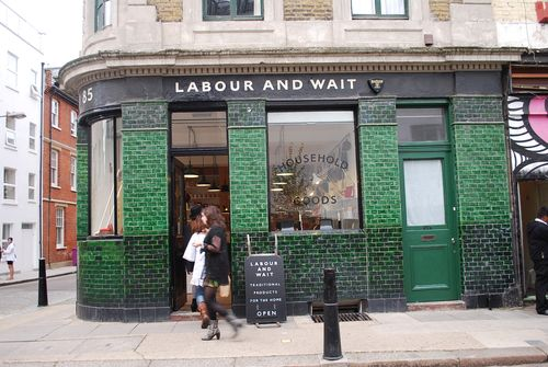 Labour and wait store front