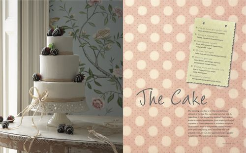 Natural brides book cake pic