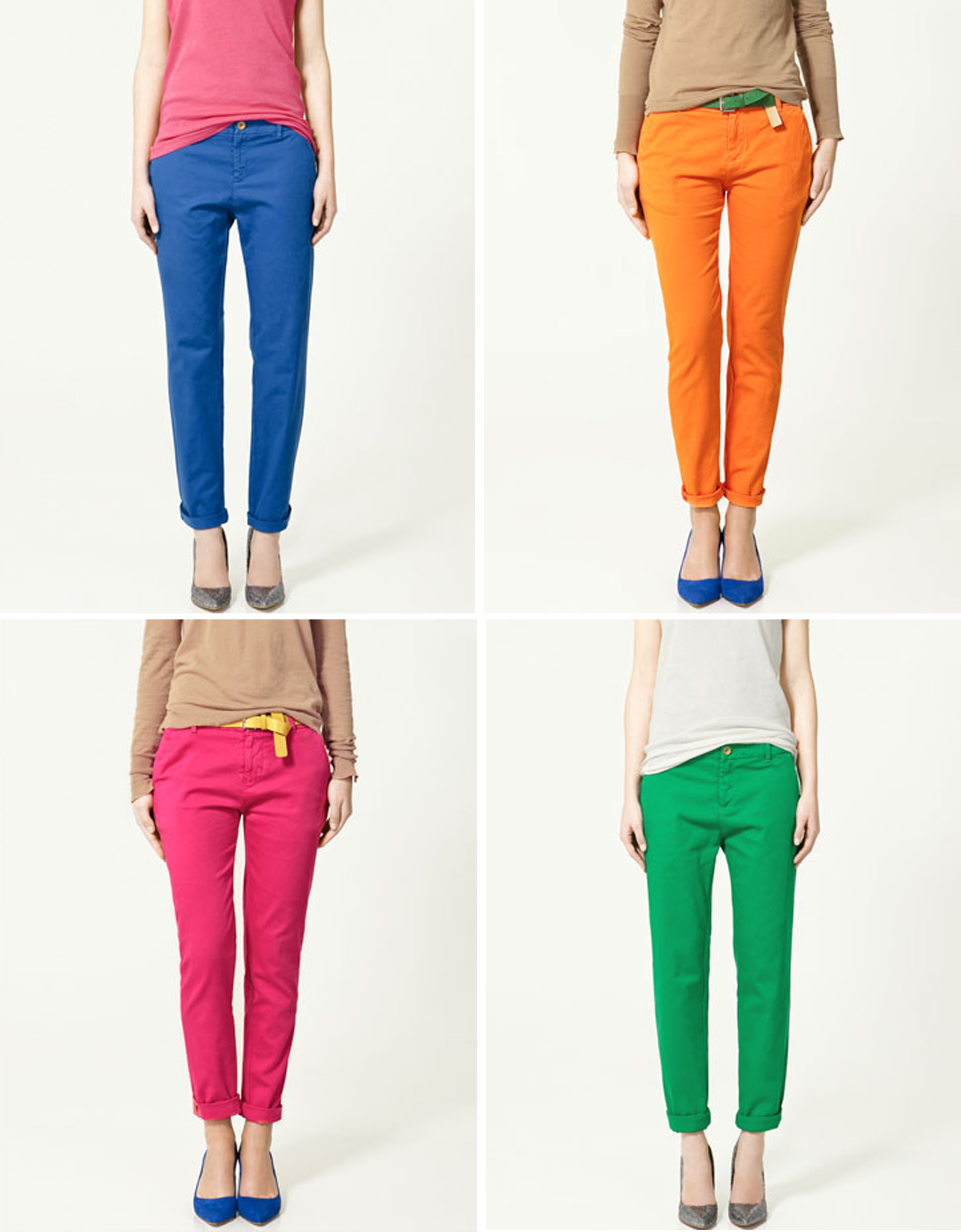 Coloured trousers: at any age