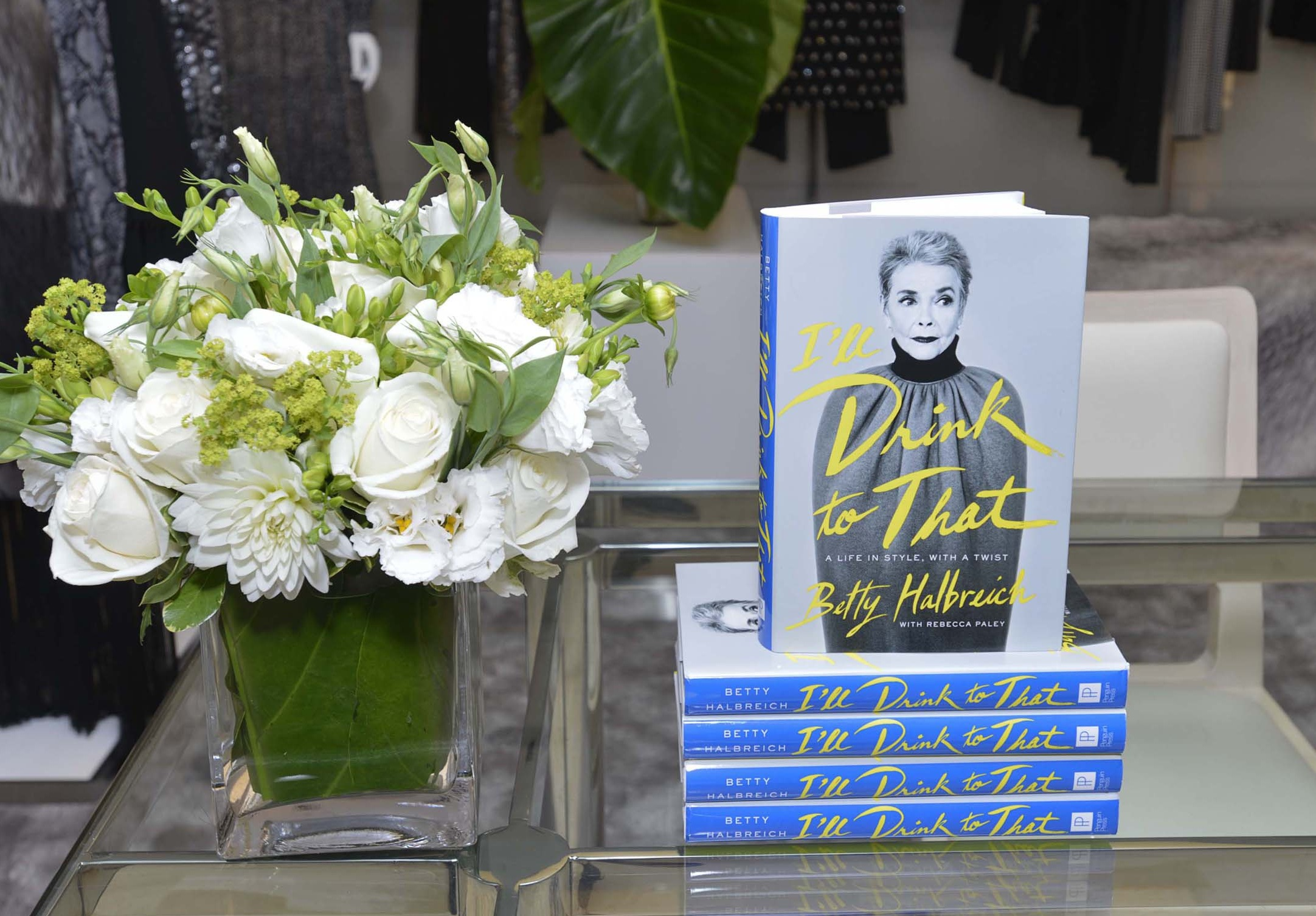 "Bergdorf Goodman And Michael Kors Celebrate Betty Halbreich's New Memoir, ""I'll Drink To That: A Life in Style with a Twist"""