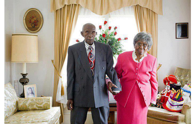 86 years of marriage, Zelda and Herbert Fisher, aged 101 and 104