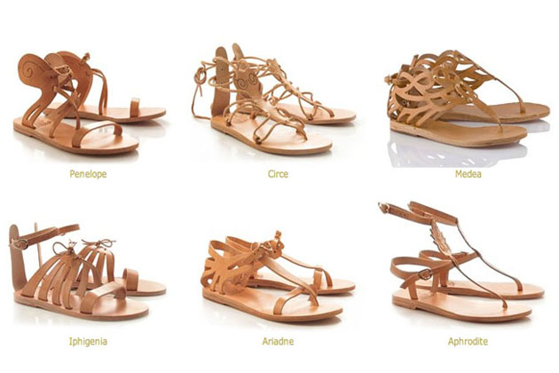 My Summer Ancient Greek Sandals Shall I Get The Winged