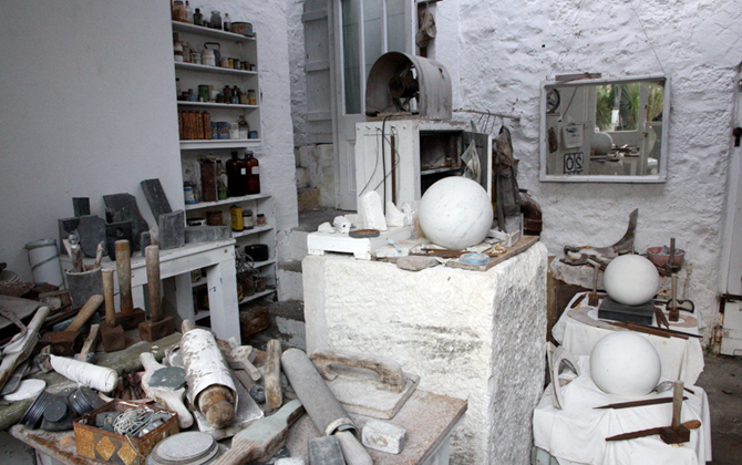 Barbara Hepworths studio