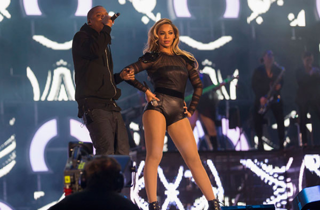 Beyonce and Jay Z Chime for Change
