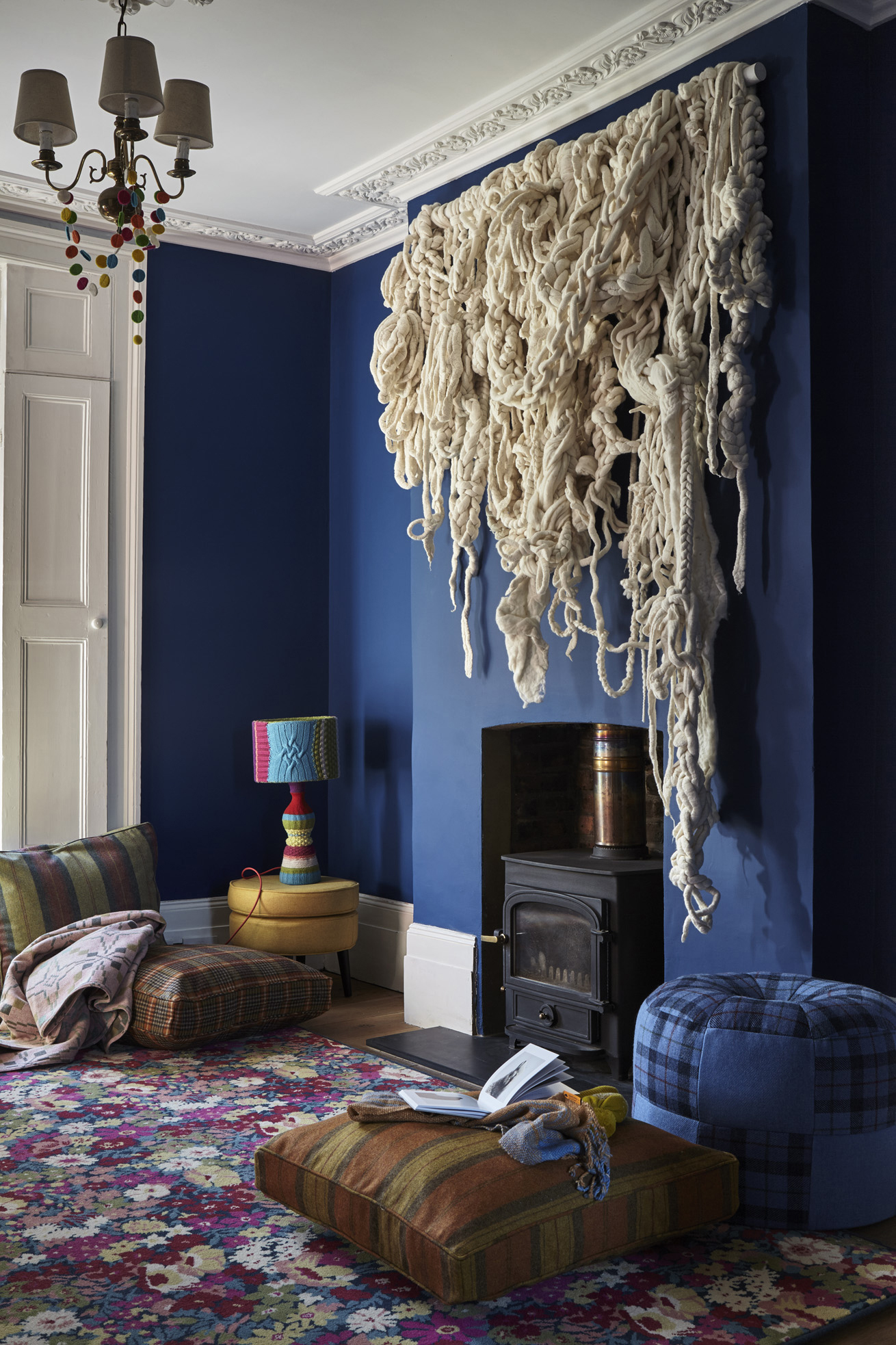 The Campaign for Wool, Wool BnB, London Photo: Peter Dixon Design and Curation: Karina Garrick @karinagarrick