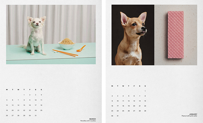 Dog Eat Dog calendar by The Gourmand