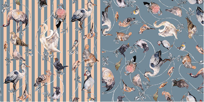 Nice Wallpaper From House Of Hackney And Kate Spade