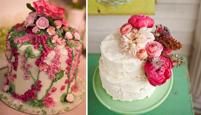 Flower Garden Cake Design PDF
