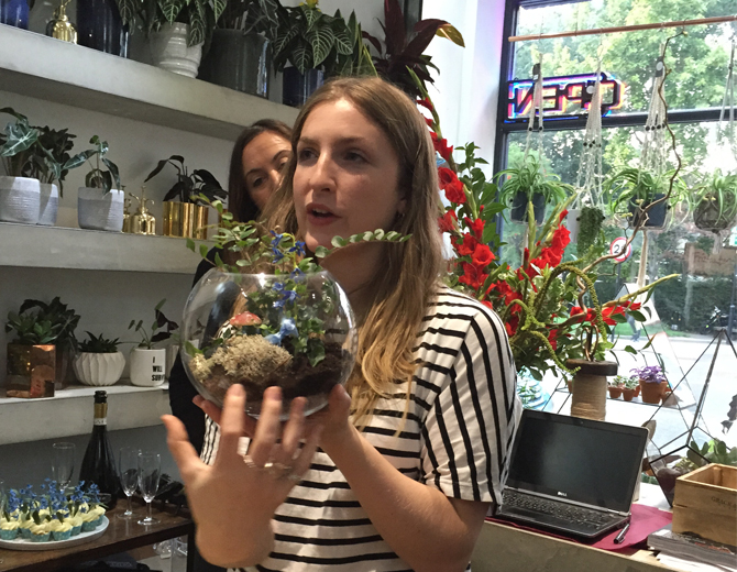 How to make a terrarium with Grace & Thorn and Yardley 4