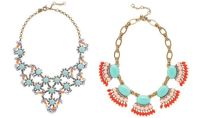 J Crew costme jewellery