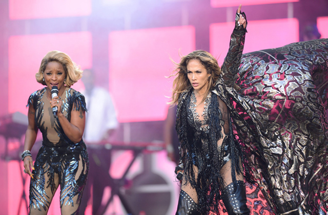 J Lo and Mary J Blige