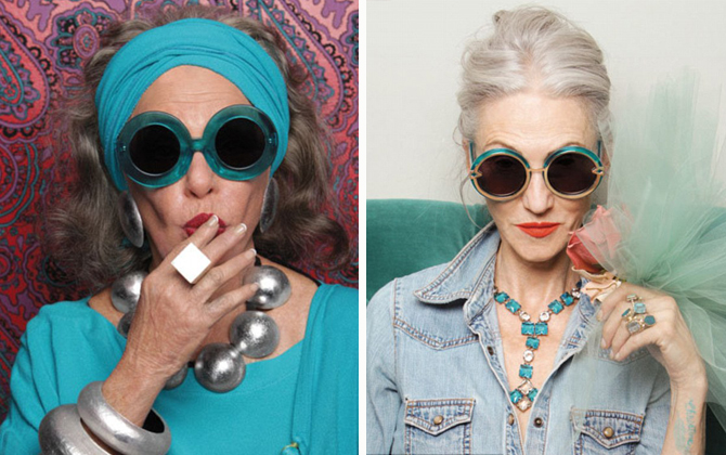 Karen Walker and Advanced Style
