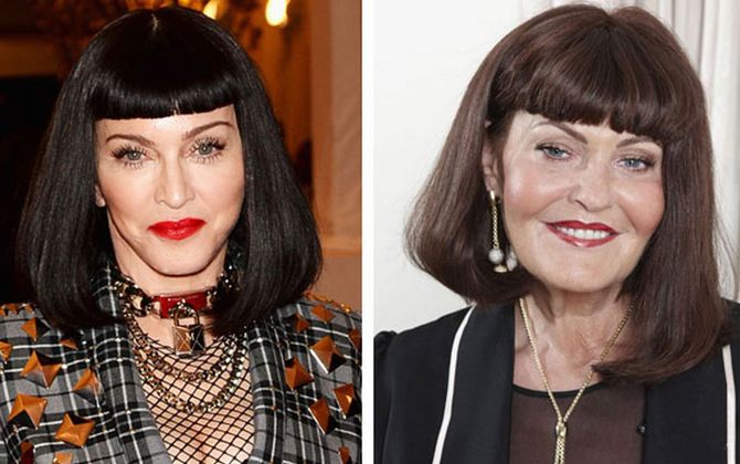 Madonna Hilary Devey