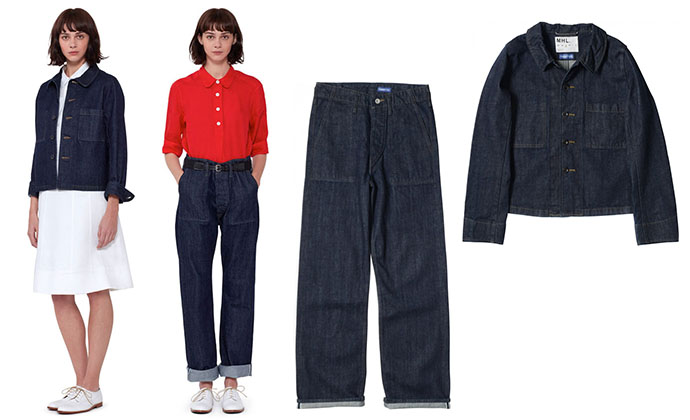 Maragert Howell Japanese denim