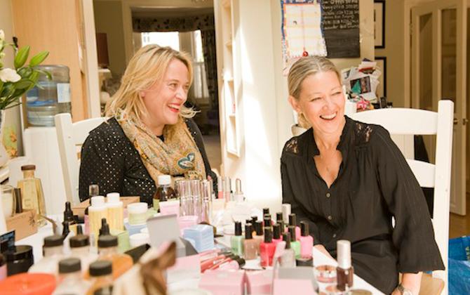 Nancy and Kate My Showcase