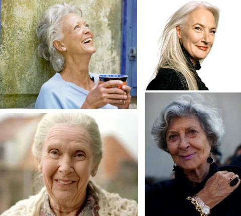 Older beautiful women