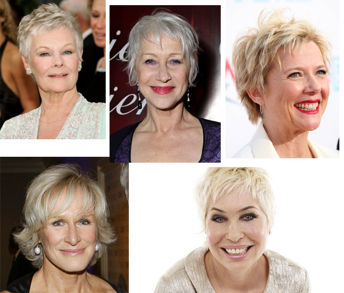 Can Older Women Look Good With Short Hair The Womens Room