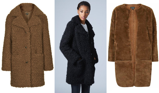 Top Shop Faux Fur