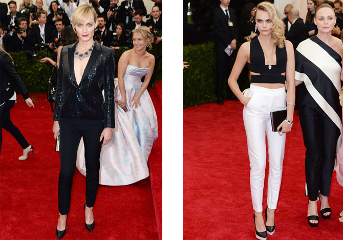 Trousers the Met ball