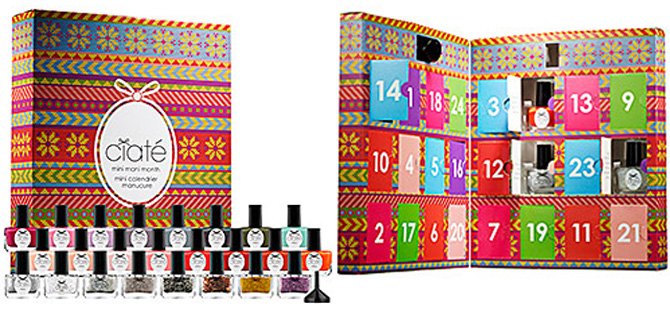 advent nail polish calendar