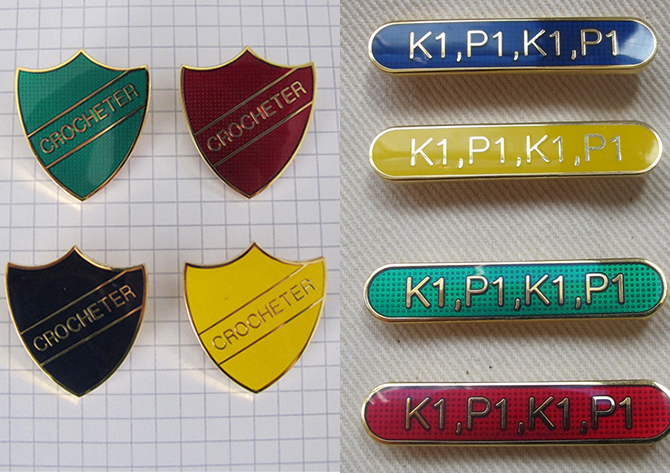 badges k1p1