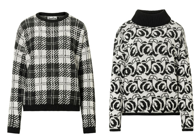 benetton_black_and_white_jumpers