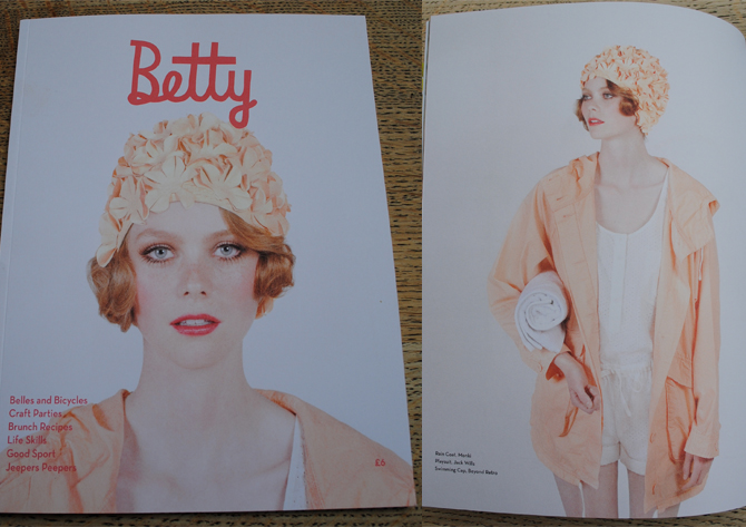 Betty Magazine issue 4 out now