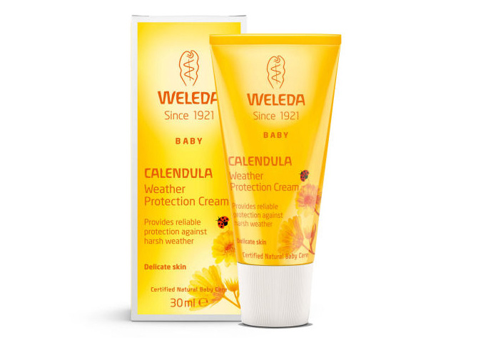 calendula weather protection cream waleda