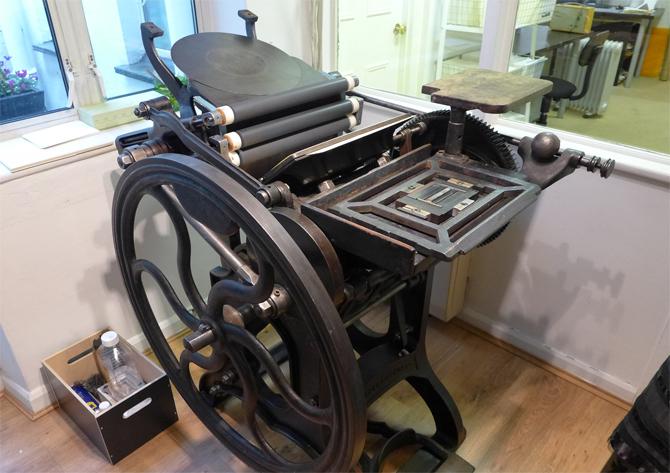 we love  paperplain letterpress personalised printing