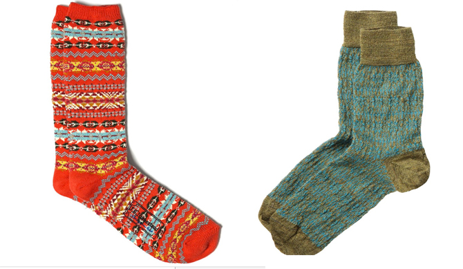 fairisle socks