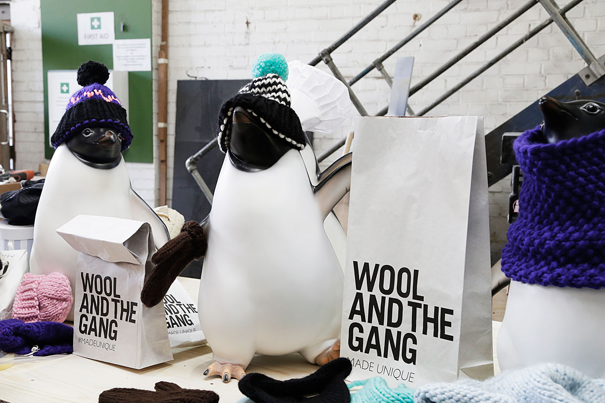 John Lewis Monty Knitting Pattern : John Lewis Penguins get their knit on with Wool & The Gang The Womens Room