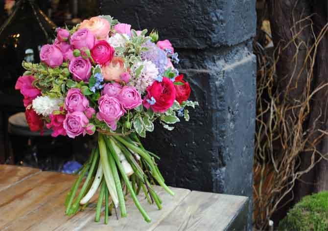 flowers at jamie aston