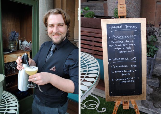 gilbert gin garden
