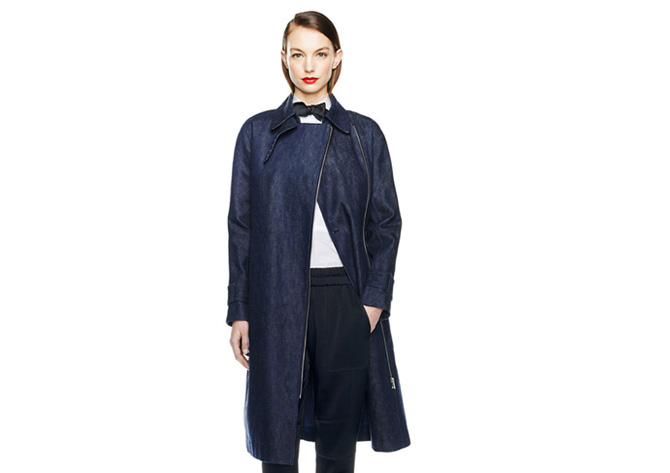 j crew aw14 denim coat