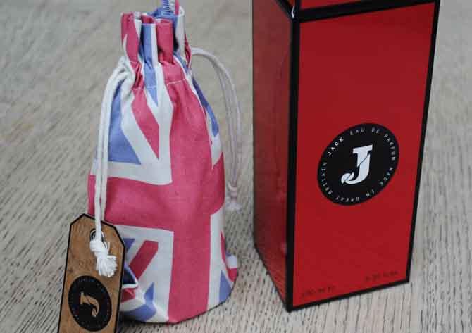 jack fragrance packaging, from richard e grant