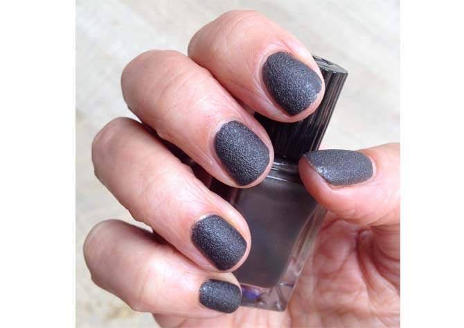 leather look nails