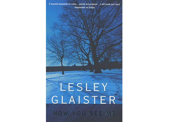lesley glaister now you see me