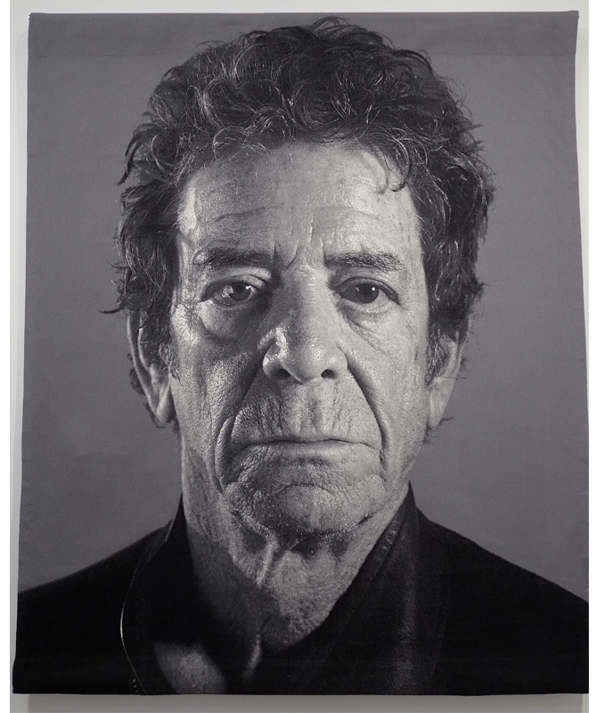 Richard A Jacobson We Love Chuck Close Using Tapestry