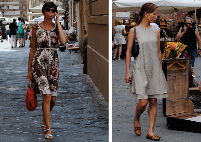 Street Style Shots Lucca Italy The Womens Room