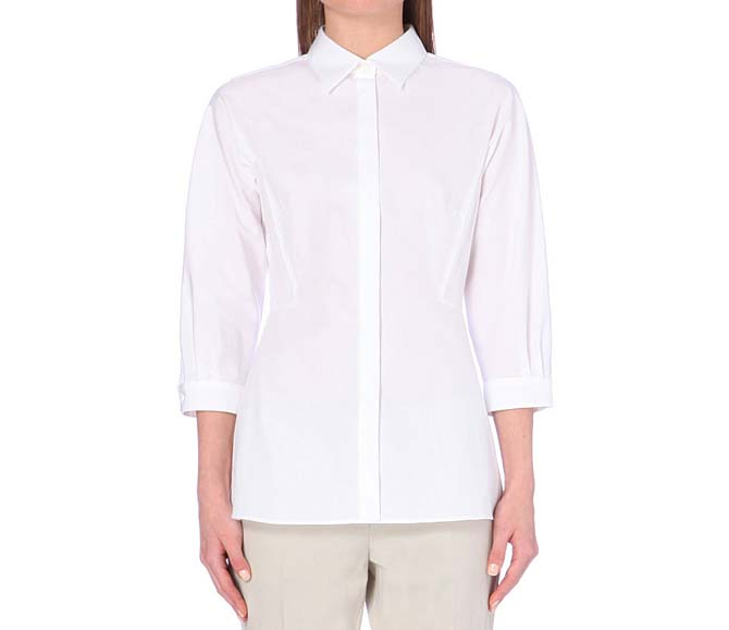 max-mara-fitted-shirt
