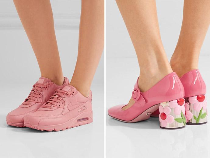 Millenial Pink Nike Prad The Womens Room The Womens Room
