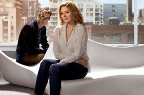 "HANDOUT PHOTO; ONE TIME USE ONLY; NO ARCHIVES; NOTFORRESALE Kim Cattrall and Don McKellar star in ""Sensitive Skin,"" a new HBO Canada dramedy premiering July 20. THE CANADIAN PRESS/ho-Bell Media"