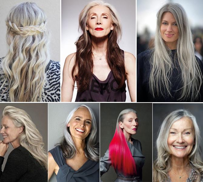 older grey hair