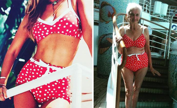 older women in bikinis