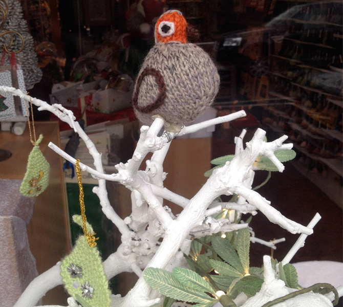 partridge at creation knits
