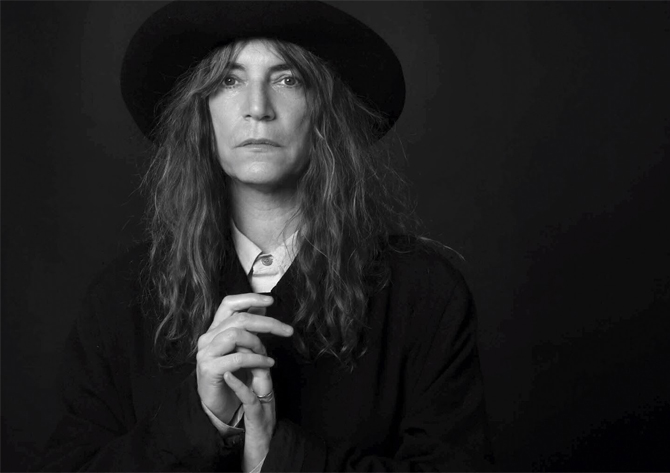 patti smith by edward mapplethorpe