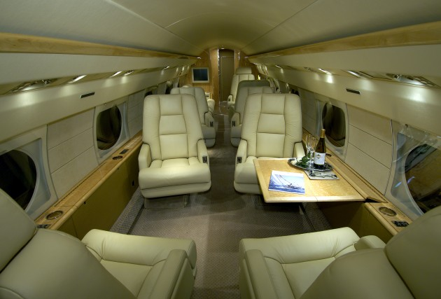 Gallery For Gt Inside Bill Gates Private Jet