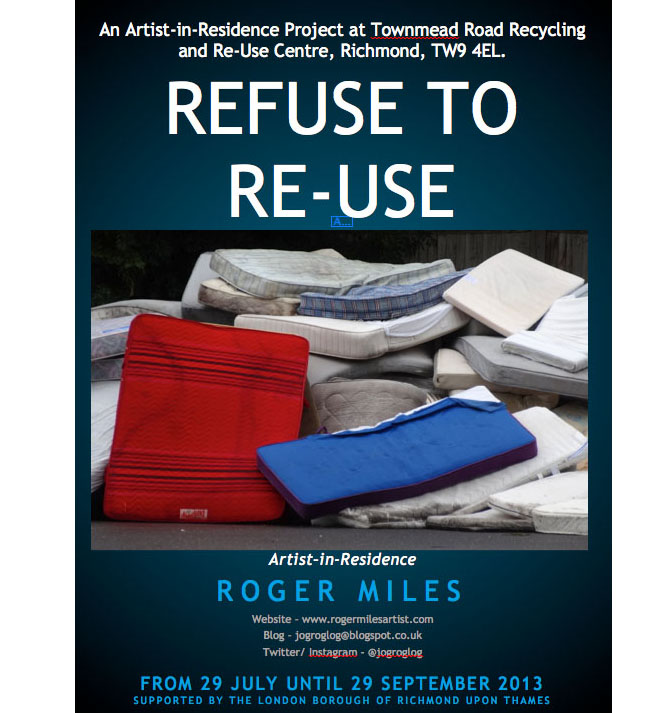 roger miles refuse to reuse