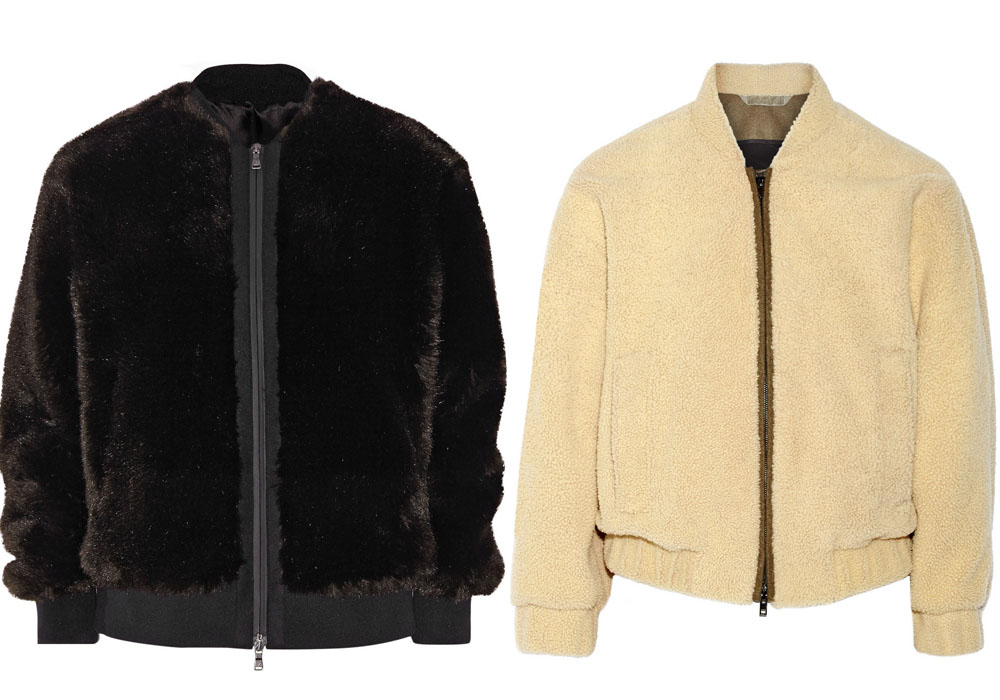 sheepskin and faux